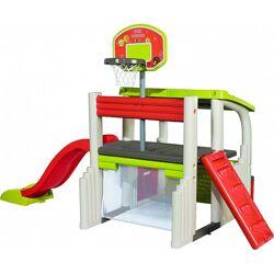 Игровой центр Smoby баскетбол, футбол, горка, домик 840203