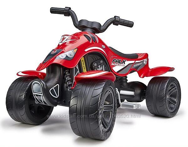 Квадроцикл на педалях Falk Racing Team 630 цвет красный