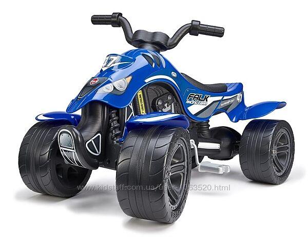 Квадроцикл на педалях Falk Racing Team 631 цвет синий