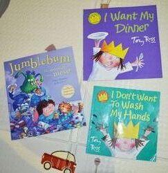 Книжечки на англ. языке, истории о маленькой принцессе, Jumblebum