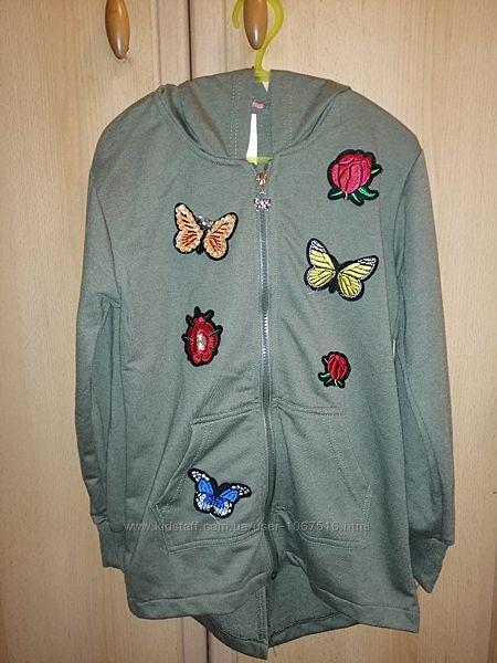 Стильная куртка, ветровка с украшениями для модницы Польша