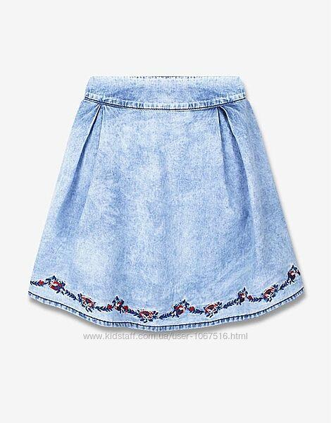 Летняя джинсовая юбка на 12-14 лет