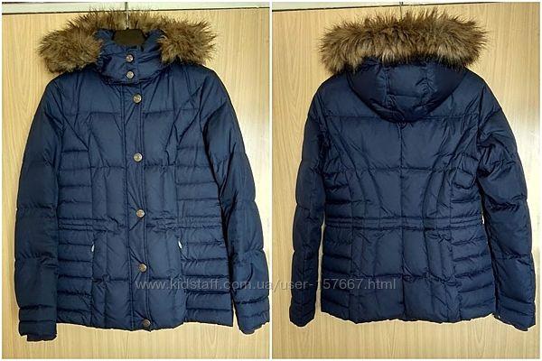 Фирменный пуховик Esprit, теплая зимняя куртка, оригинал, размер М, S