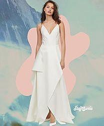 Крутое свадебное, а так же коктейльное вечернее платье H&M - 40 - на 10, 12