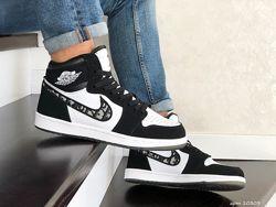 Кроссовки Nike Air Jordan Dior, Джордан, цвета разные