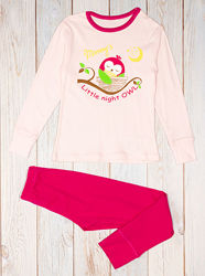 Комфортная пижама для девочки Фламинго 255-1005
