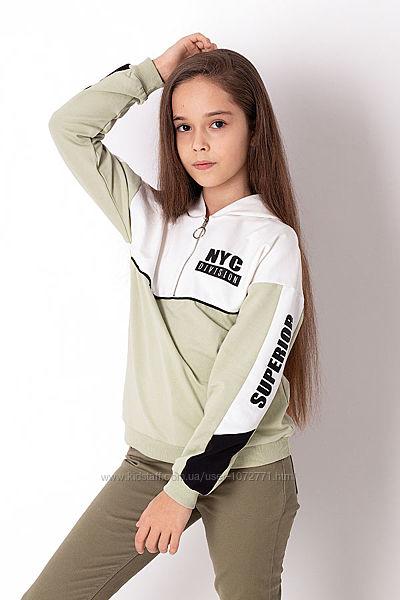 Кофта-худи для девочки Mevis 3643 - 4 цвета в наличии