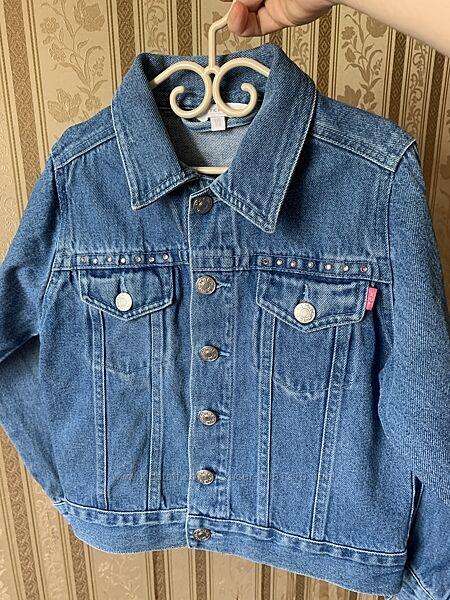 Джинсовая куртка, джинсовка 5-6 лет