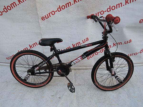 BMX велосипед Detox 20 колеса. Поворт руля на 360 градусов