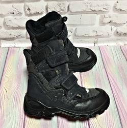 Зимние ботинки ecco gore-tex р. 28