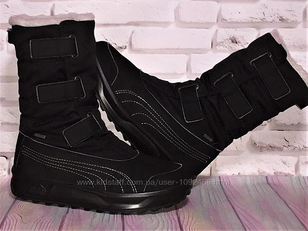 Сапоги, ботинки puma gore-tex р. 37