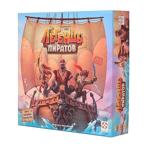 Настольная игра  Легенды пиратов  Pirate legends