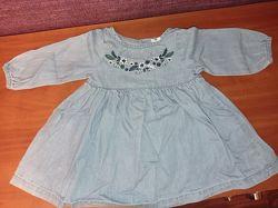 Джинсовое платье Cool club 68 р.