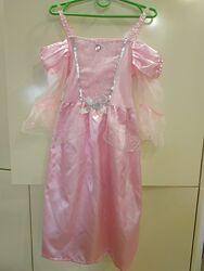 Платье принцессы с короной на 104-116-122 рост