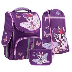 Рюкзак с наполнением пенал сумка для обуви Kite My Little Pony SETLP21-501