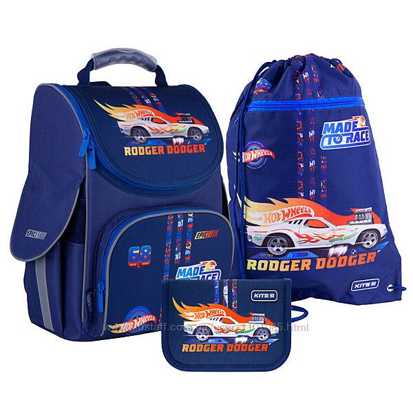 Рюкзак каркасный набор Kite Hot Wheels SETHW21-501S