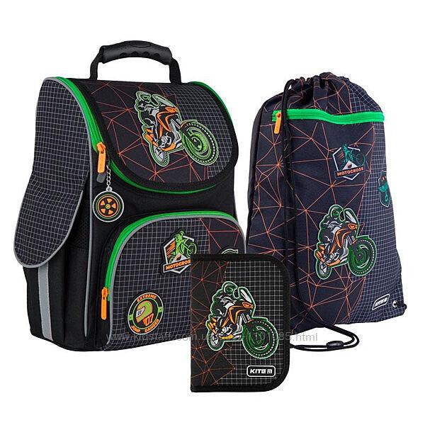 Рюкзак каркасный набор Kite Motocross SETK21-501S-2