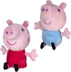 Набор свинка Пеппа и Джордж плюшевые Оригинал США Peppa Pig and George