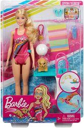 Уценка Набор игровой Barbie Барби Чемпион по плаванию GHK23 Dreamhouse Adve