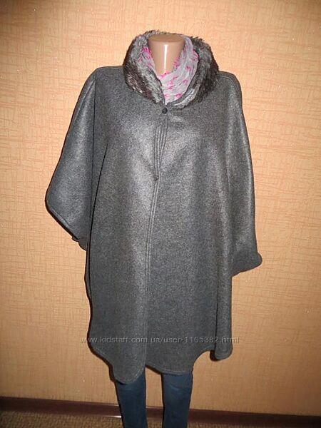 Очень красивая вещь пальто-пончо.