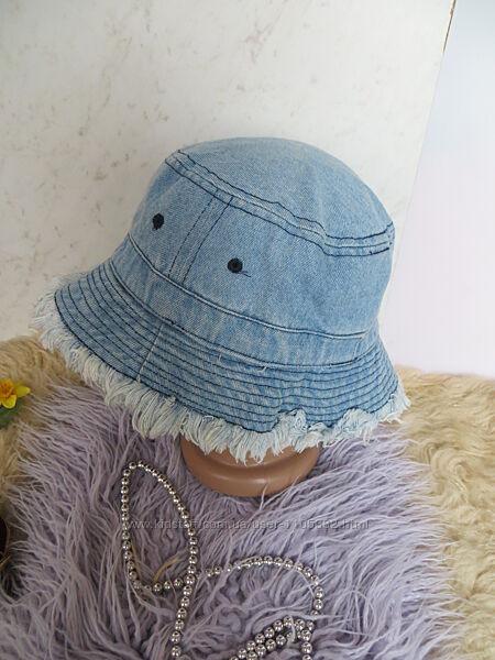 Стильная джинсовая панамка-шляпа .