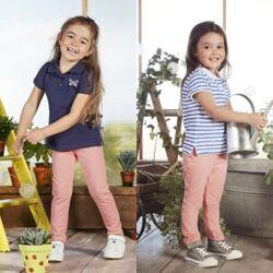 Комплект Lupilu-2 футболки и леггинсы для девочки р.86/92, 12-24 м Германия