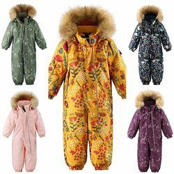 Зимние детские комбинезоны комплекты Reima. Акция