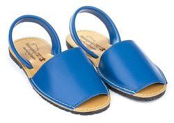 Менорки синие, Босоножки Брендовые, Качественные, Открытые, Мягкие, Модные,