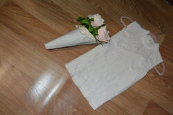 Нежная блуза белая гипюр размер С состояние идеал. Отдаю по приятной цене.