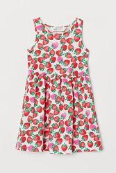 Новые сарафаны, платья девочке 2-4, 4-6, 6-8, 8-10 лет от H&M