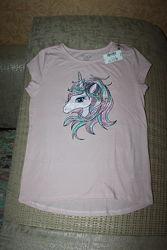 Новые футболки девочке  5-6, 7-8, 10-12, 14, 16 лет от Childrens Place, Сша