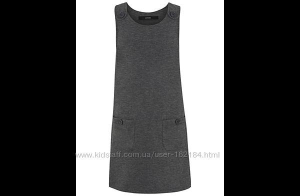 Школьное платье, сарафан девочке 7-8 лет от george, Англия