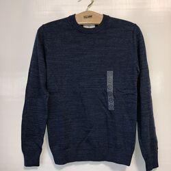 Отличный свитер для весенней погоды C&A, цвет синий меланж, р-р от S до 2XL