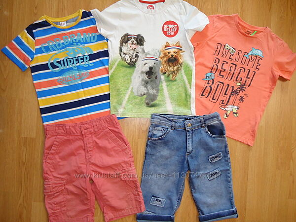 Стильные футболки для мальчиков 9-11лет