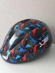 Новый детский велосипедный шлем Green Cycle 50-54 см