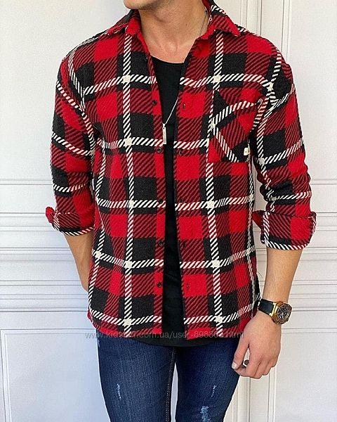 Стильная байковая рубашка