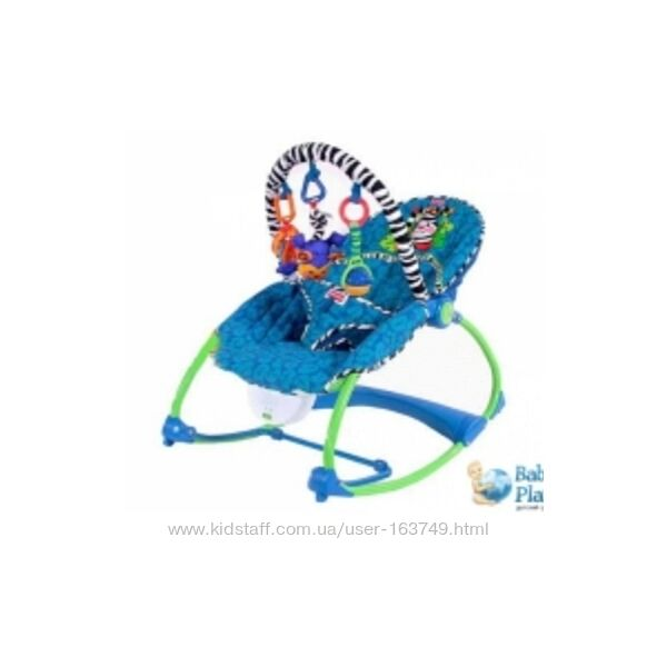Кресло-качалка массажное Fisher-price