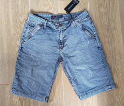 Мужские стрейчевые шорты летние 2077 Blackzi ,30-38рр, светлые
