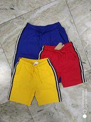 детские трикотажные шорты на мальчика на рост 98 -158  много моделей