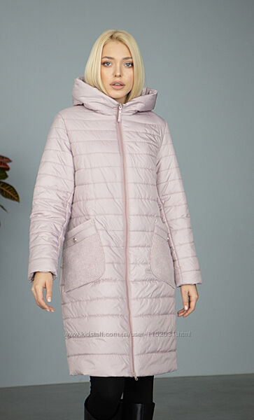 Куртки женские стеганные. Удлиненная куртка осень размеры 46-58