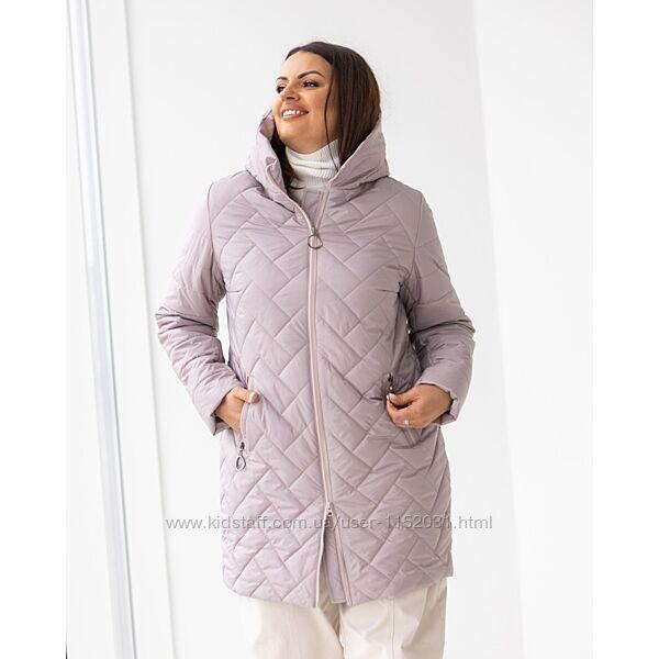 Женские куртки демисезонные размеры 48 - 58. Куртки жіночі демісезонні