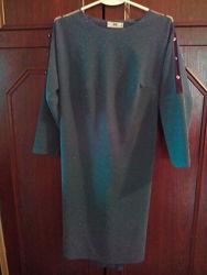 святкове   плаття з люрексом