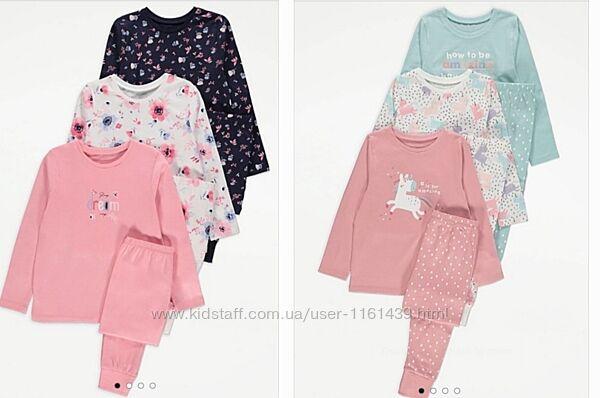 Пижамы комплект George  3-4,4-5,5-6 ,6-7,8-9,9-10  Джордж Next