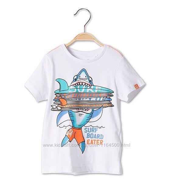 Детская футболка на мальчика 5-6 лет C&A Palomino Германия  Размер 116
