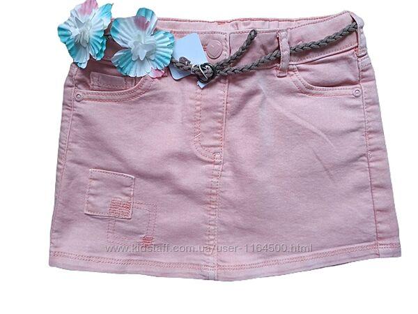 Джинсовая юбка для девочки 5-6 лет C&A Германия Размер 116