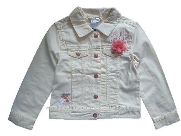 Джинсовая куртка на девочку 4-5 лет C&A Германия Размер 110