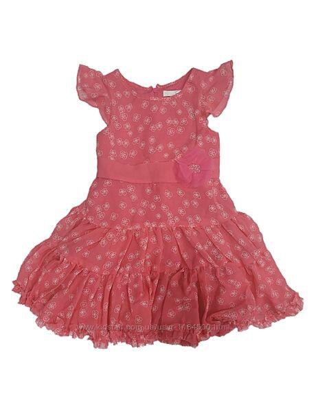 Летнее платье на девочку 3-4 года Cool Club Польша Размер 104 красное