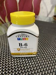 Витамин В6, 21 century, iherb,