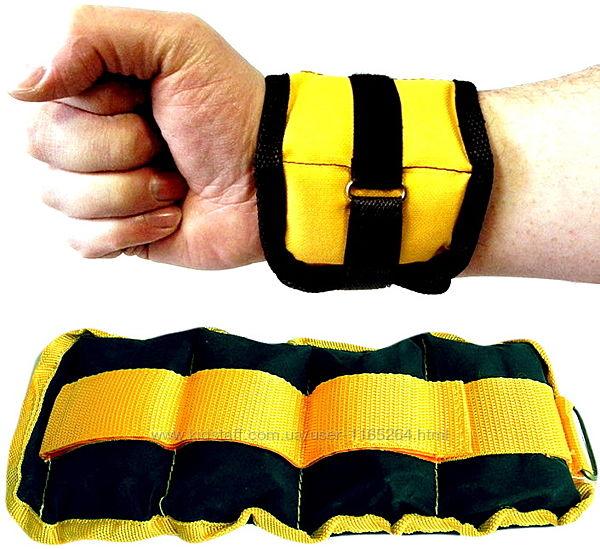 Утяжелители для ног и рук от 0,25 кг до 3 кг