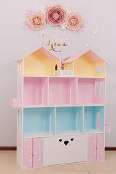 Деревянный дом , особняк для кукол